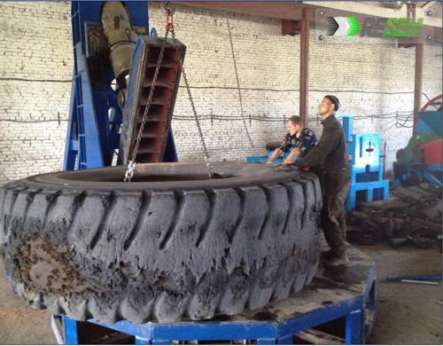 Гильотина для шин до 3000мм